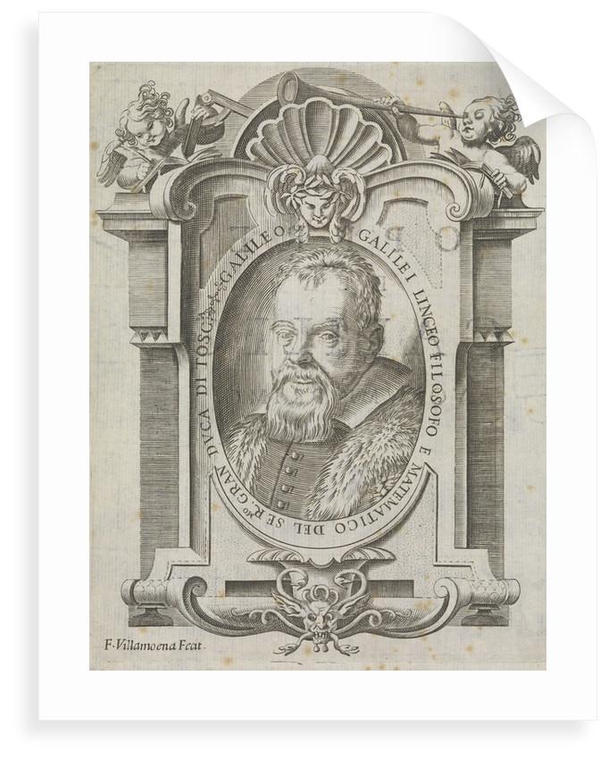 Galileo Galilei (1564-1642) by F Villamoena