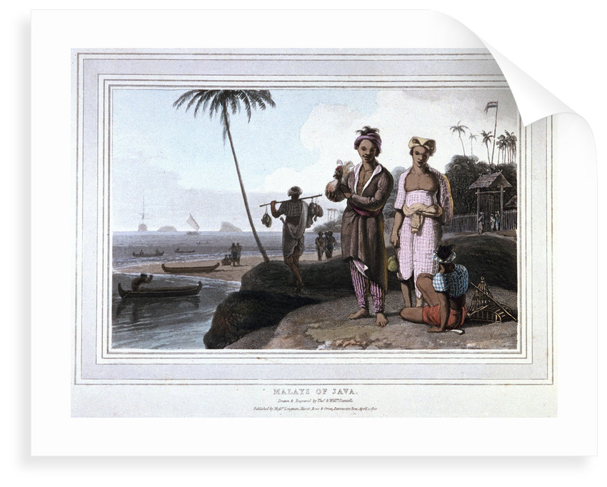 Malays of Java by Thomas Daniell