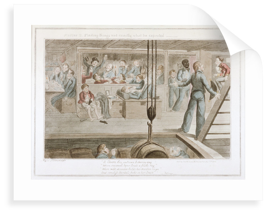 Master B. Finding things not exactly what he expected' by George Cruikshank