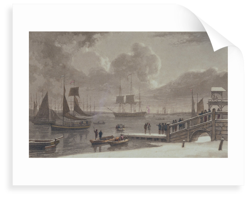 Gravesend by Thomas Daniell