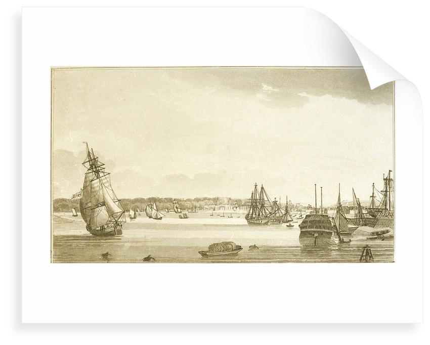 Blackwall Reach & Greenwich by W.H. Timms