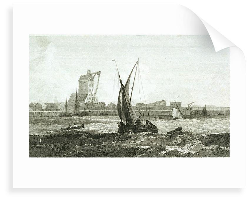 The Old Mast House, Blackwall by Samuel Owen