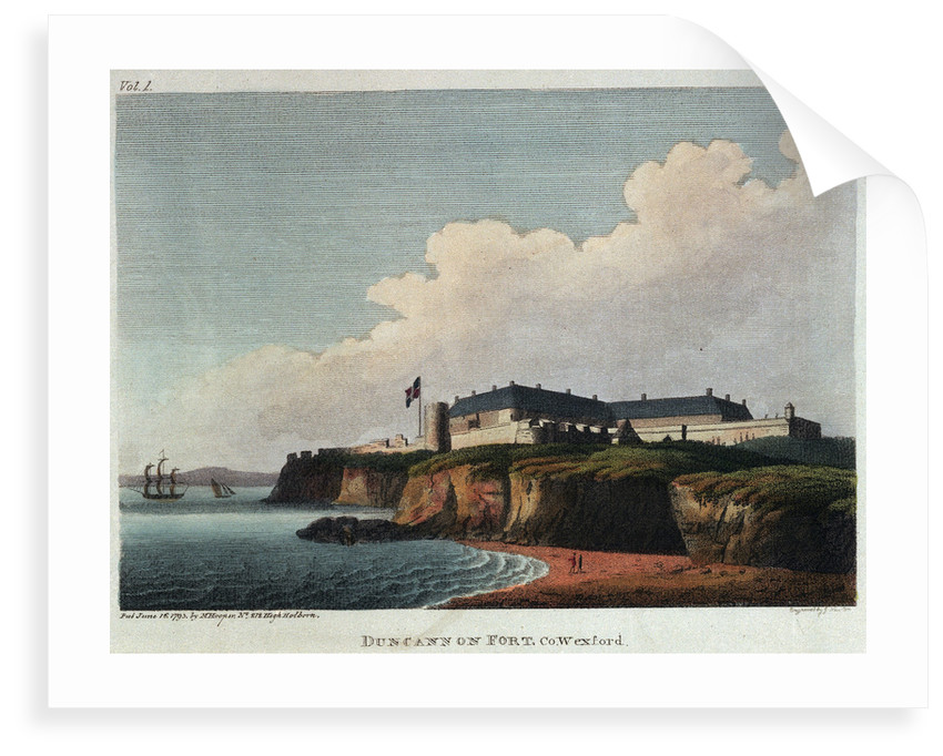 Duncannon Fort, Co. Wexford by James Newton