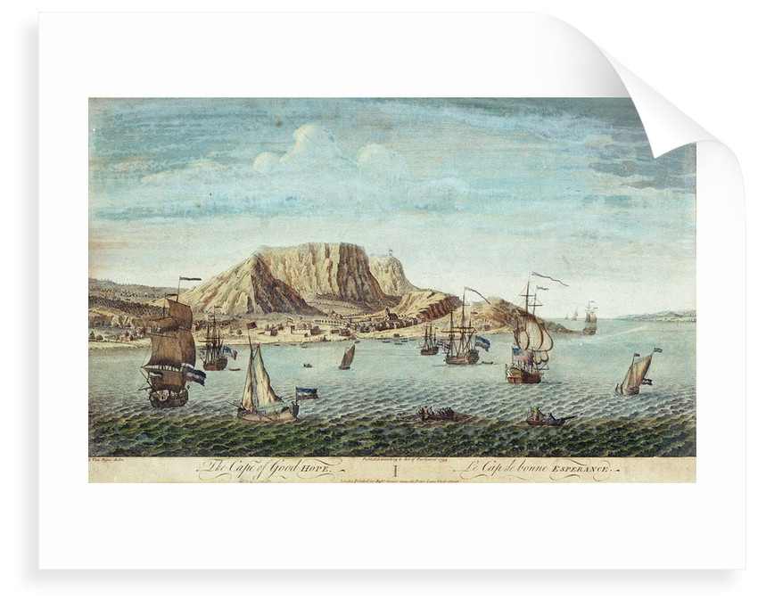 The Cape of Good Hope by Jan van Ryne