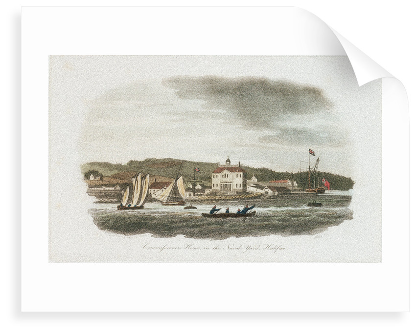 Commissioners House, in the Naval Yard, Halifax by Wells