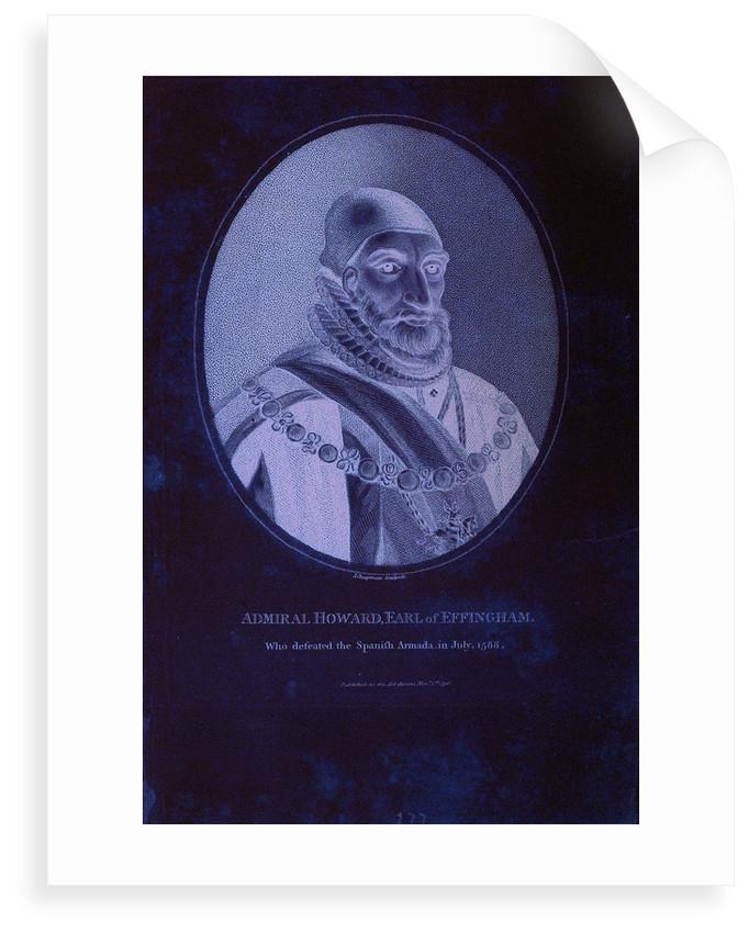 Admiral Howard, Earl of Effingham by D. Mytens