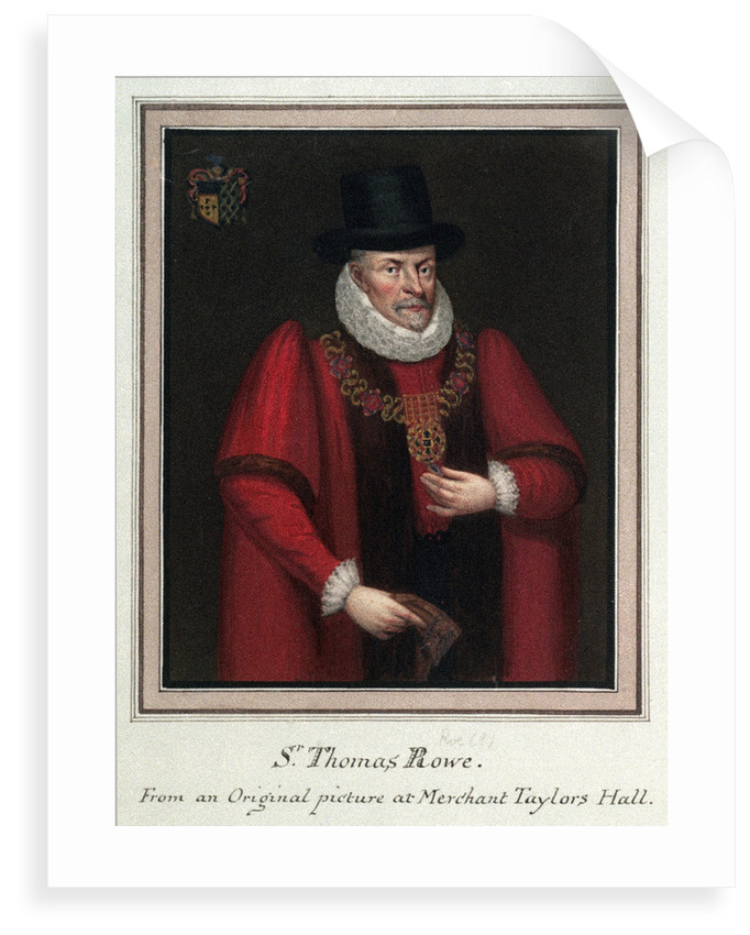Sir Thomas Rowe by unknown