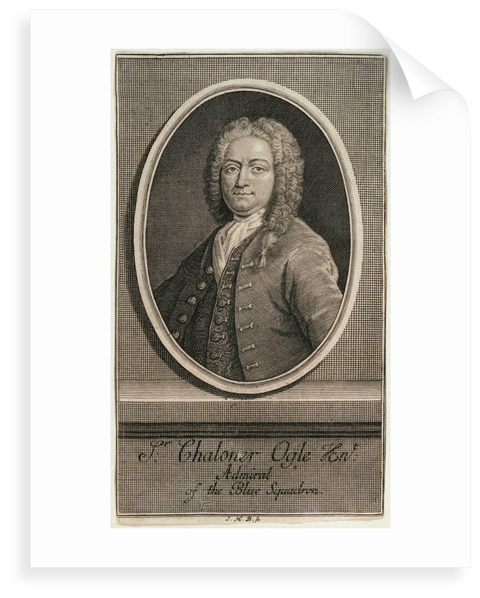 Sir Chaloner Ogle by J.M. B.