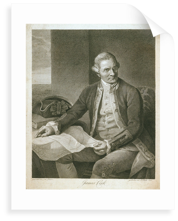 James Cook by Nathaniel Dance