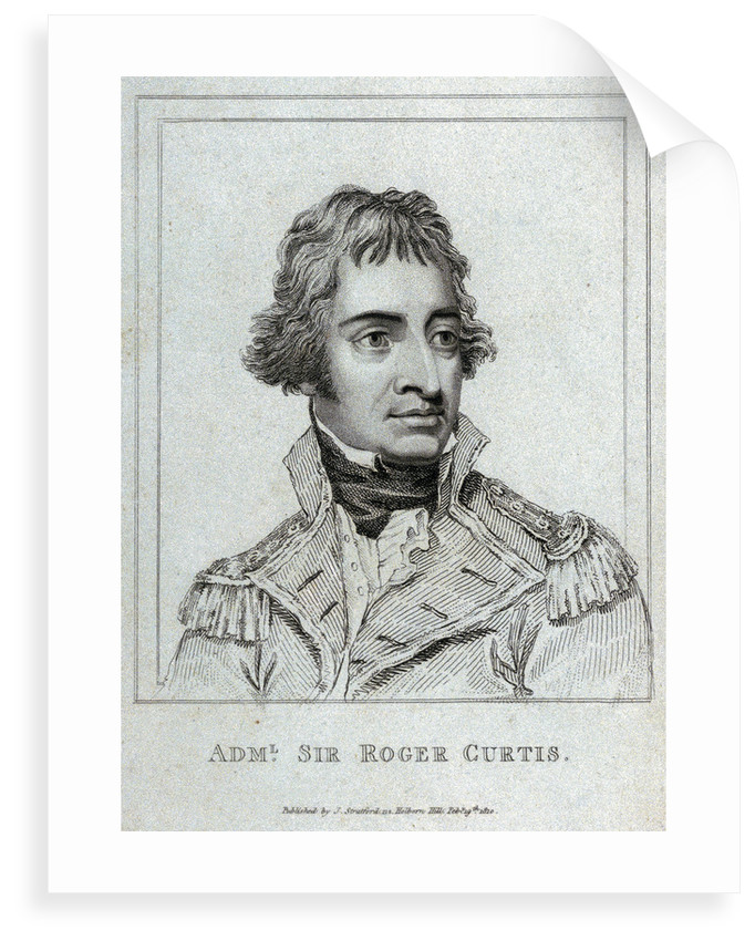 Admiral Sir Roger Curtis by J. Stratford