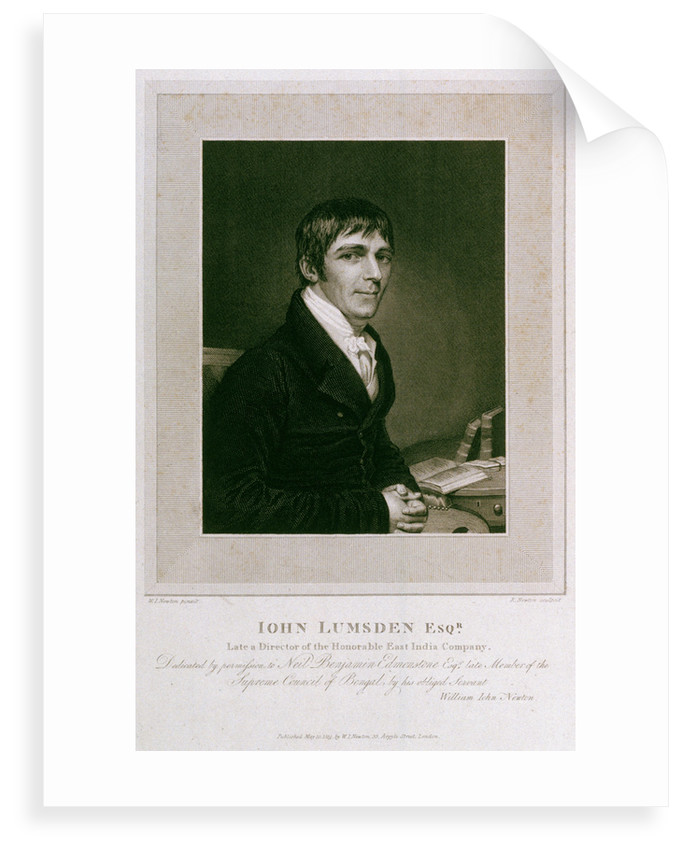 John Lumsden, Esquire by William John Newton