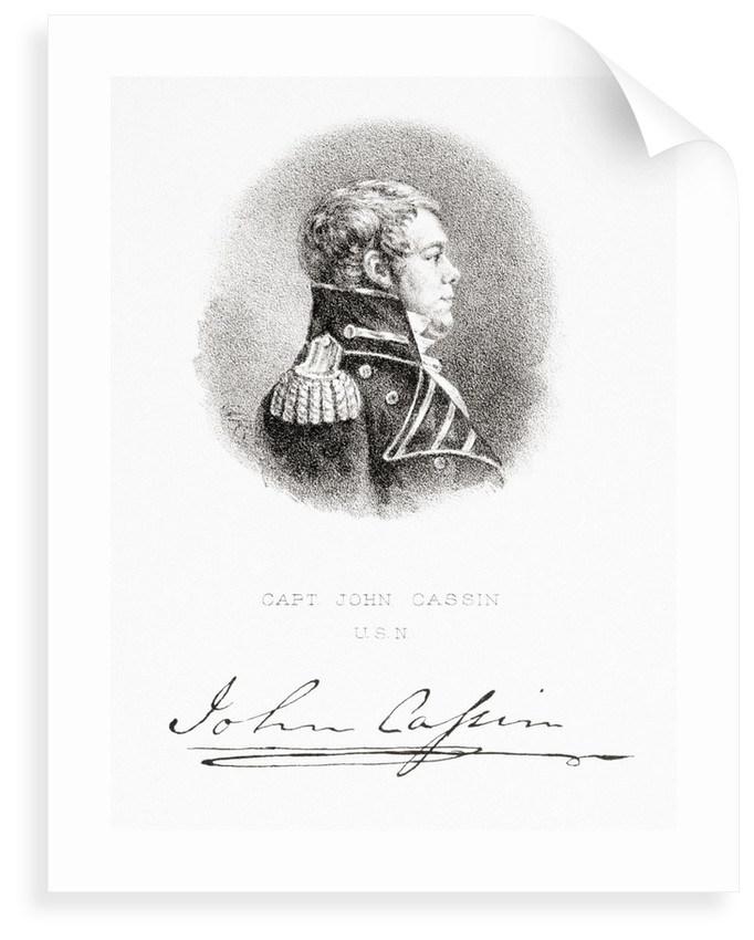 Captain John Cassin, United States Navy by G. R.