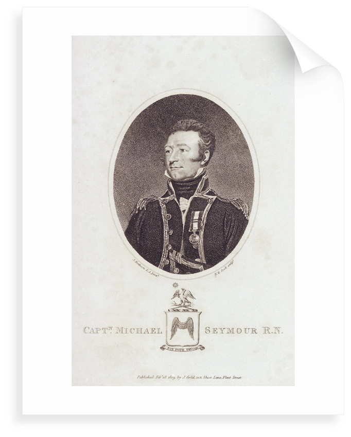 Captain Michael Seymour R.N by James Northcote