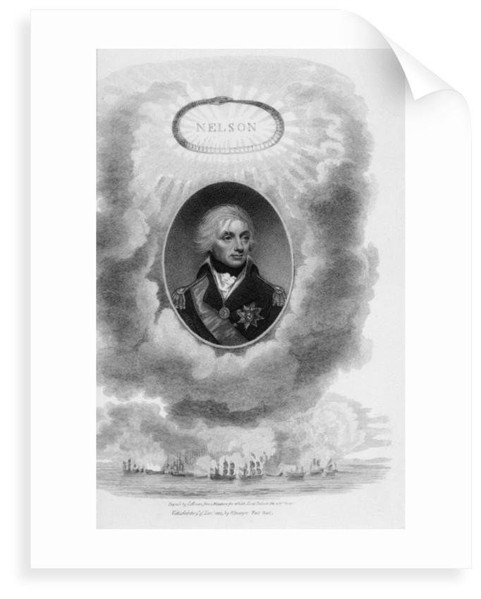 Horatio Nelson (1758-1805) by Robert Bowyer