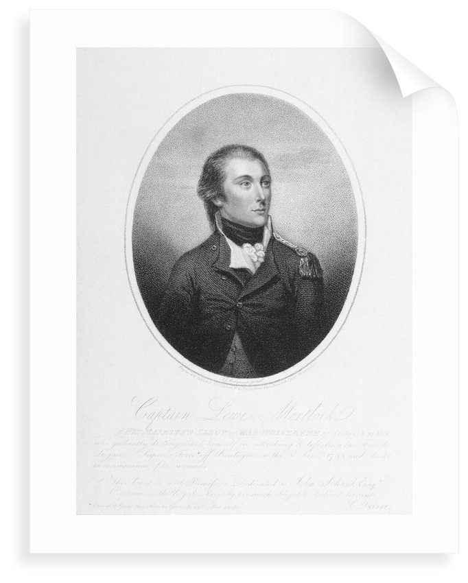 Captain Lewis Mortlock by John James Masquerier