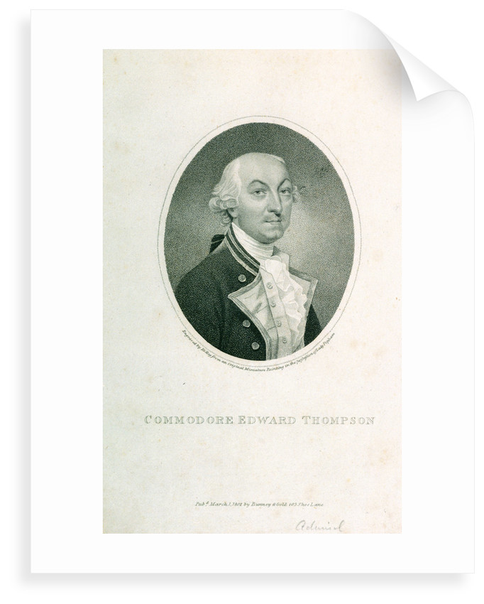Commodore Edward Thompson by William Ridley