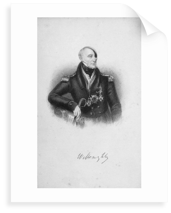 Nesbit Josiah Willoughby (1777-1849), also known as 'The Immortal' or 'Fighting Willoughby' by Thomas Baber