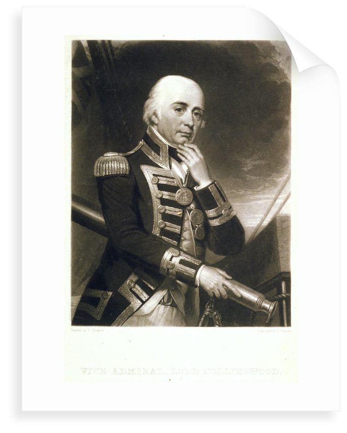 Vice Admiral Lord Collingwood by Frank Howard