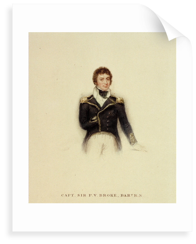 Captain P.V. Broke, Royal Navy by unknown