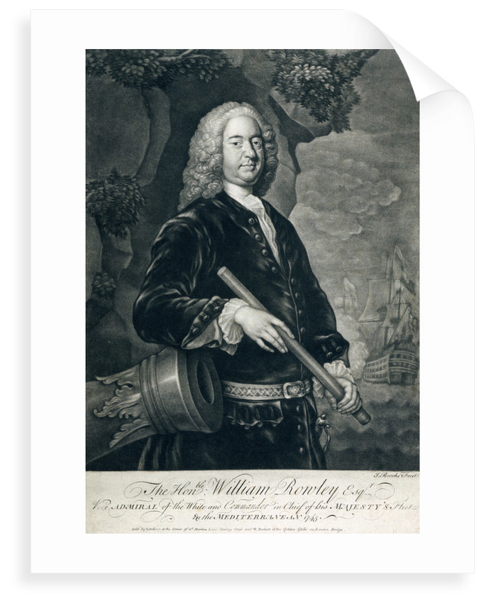 The Honourable William Rowley Esq. by John Brooks