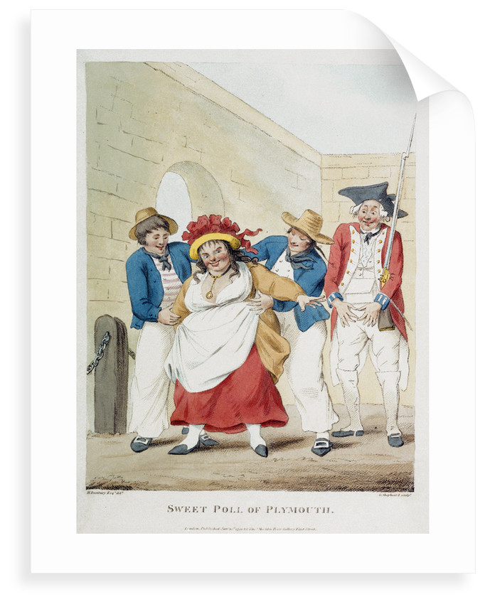 Sweet Poll of Plymouth by Henry William Bunbury