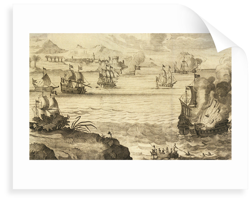The attack on Spanish-held Cartagena in March 1669 by pirate captain Henry Morgan by unknown