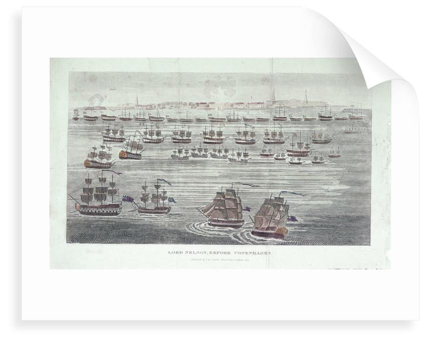 Lord Nelson before Copenhagen by J. & J. Cundee (publishers)