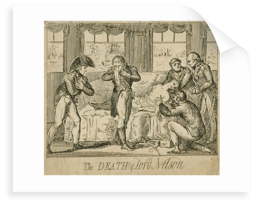 The death of Lord Nelson by unknown