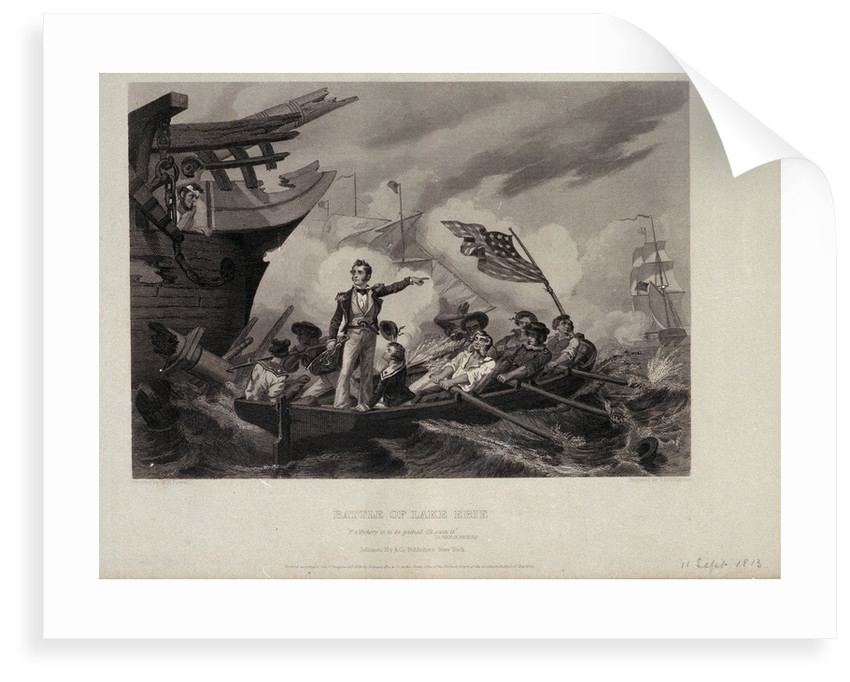 Battle of Lake Erie by George William H. Powell