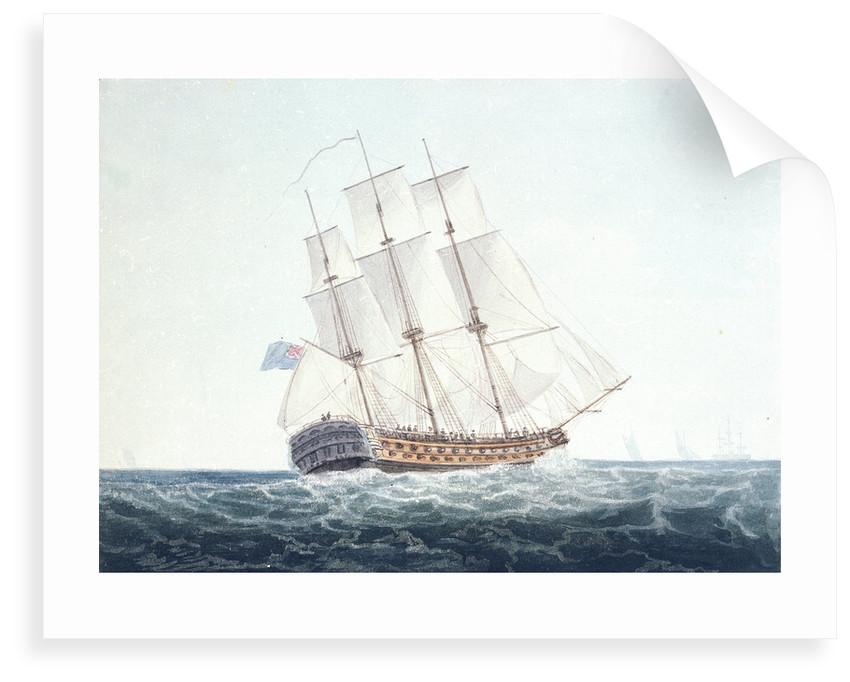 HMS 'Ajax' by unknown