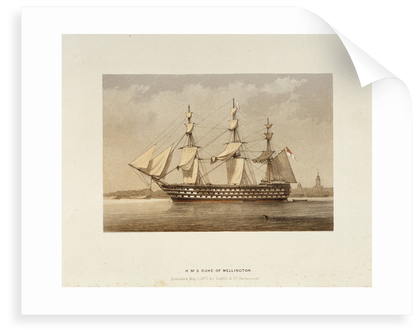HMS 'Duke of Wellington' by Griffin & Co