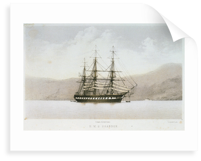 HMS 'Shannon' by Forster & Co
