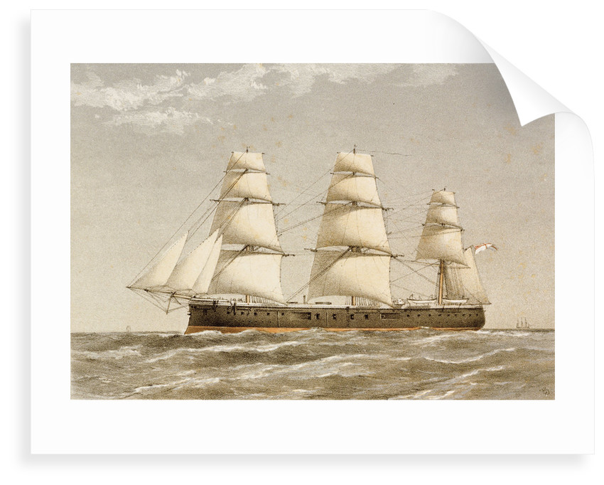 HMS 'Hercules' by Griffin & Co