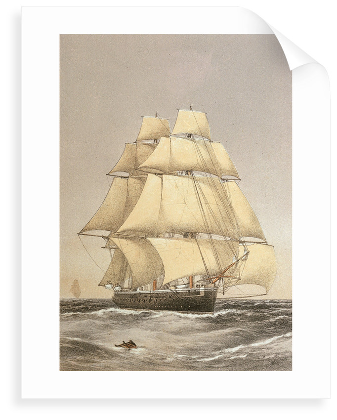 HMS 'Bacchante' (1876) by Griffin & Co