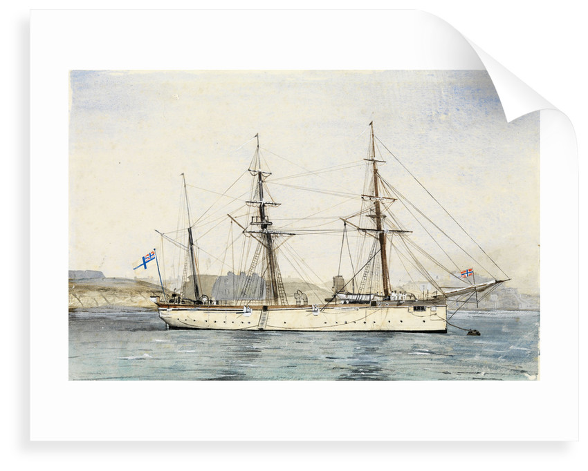 HMS' Mariner' (1884) by unknown