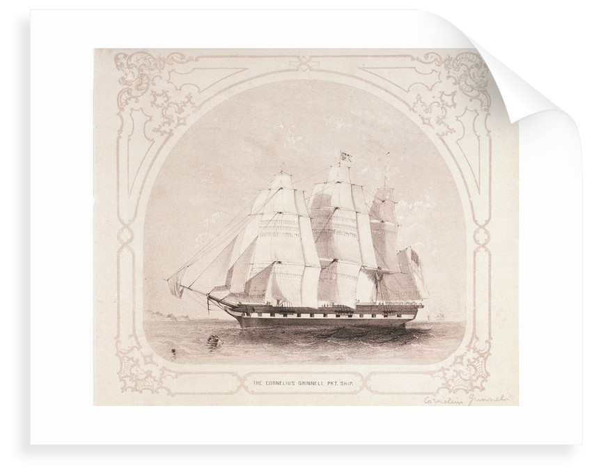 The packet ship 'Cornelius Grinell' by unknown