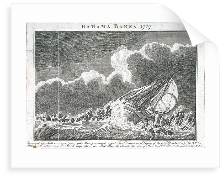 Bahama Banks, 1767 by Samuel Atkins