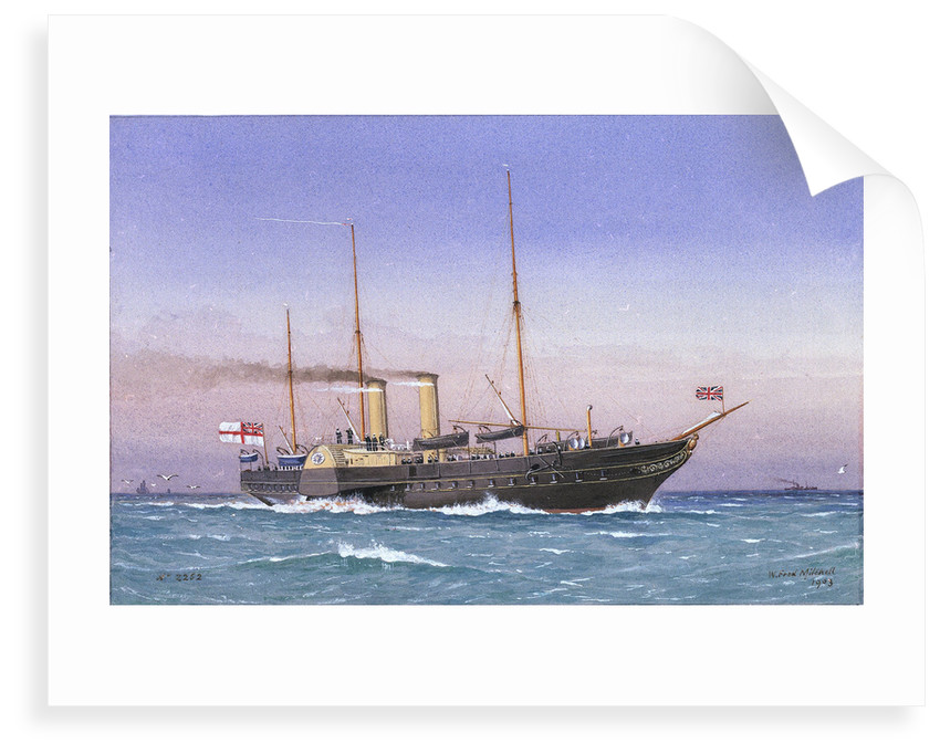 Royal yacht 'Osborne' (1870) by W. Fred Mitchell