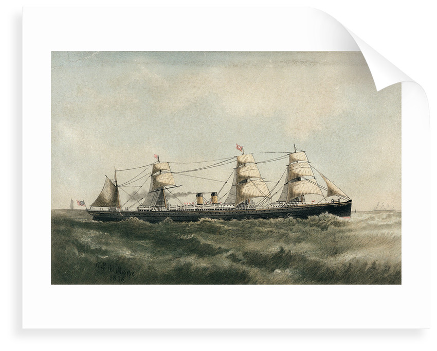 The 'Britannic' by A.S. Palethorpe