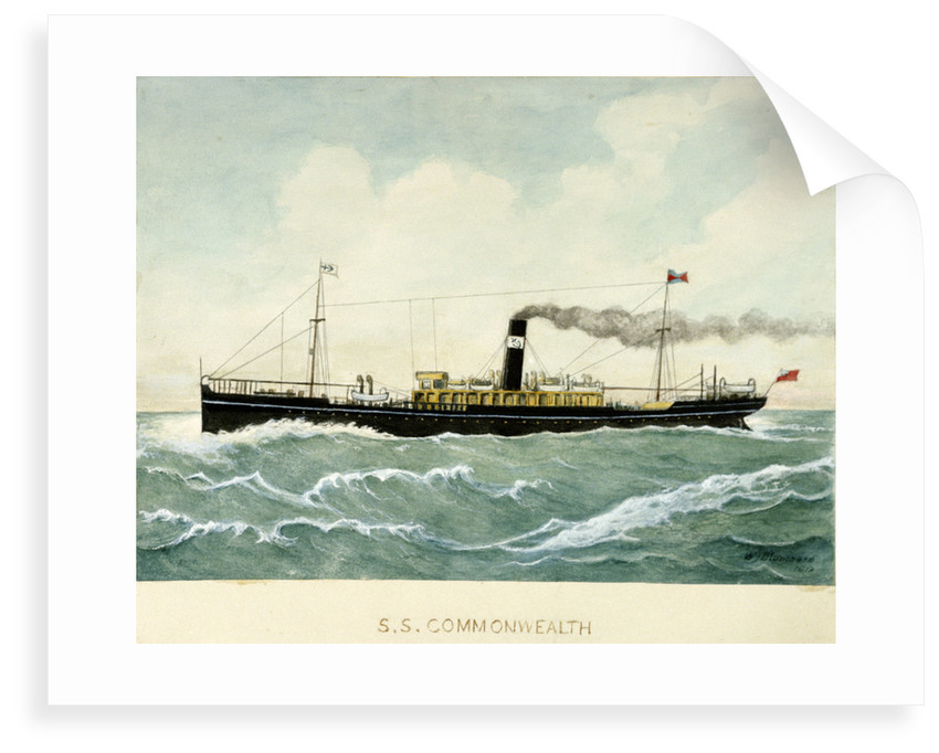 S.S. 'Commonwealth' by Blanchard