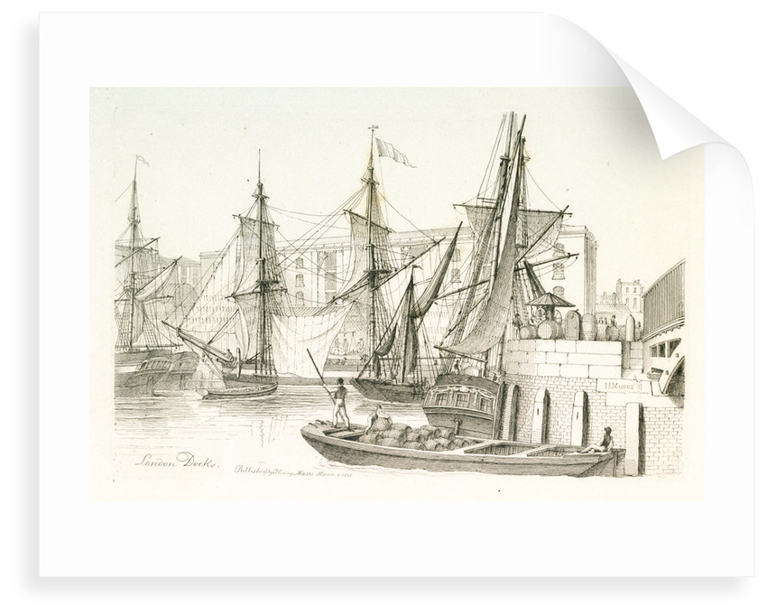 London Docks by Chatfield & Coleman