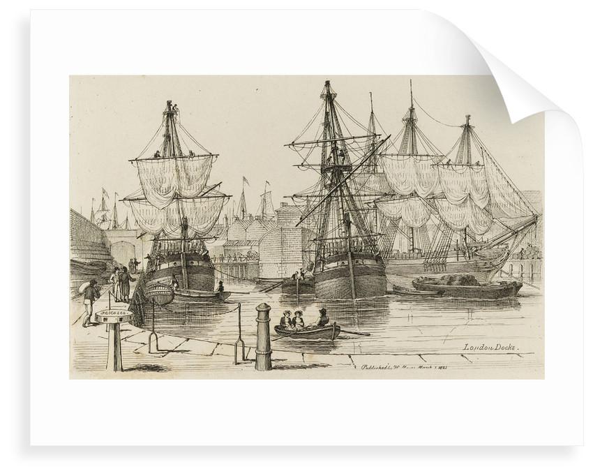 London Docks by Chatfield & Coleman