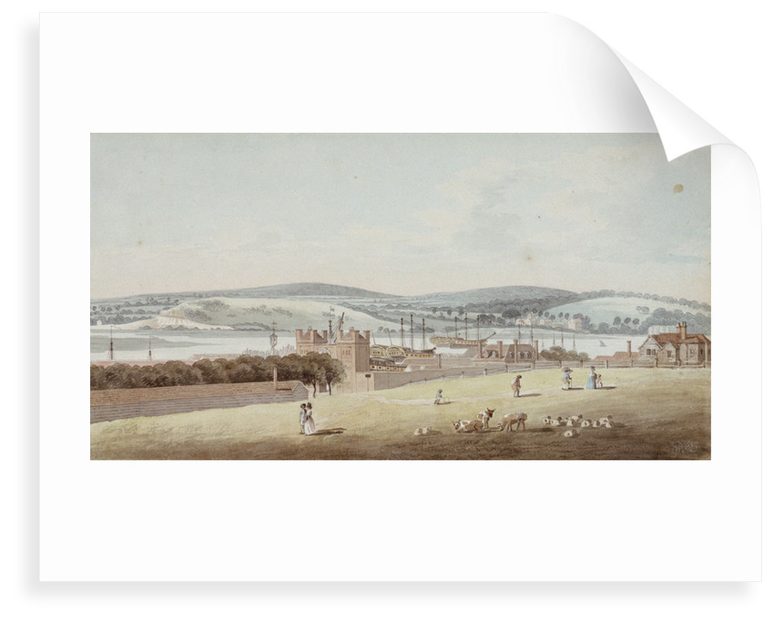 View of Chatham by George Bulteel Fisher