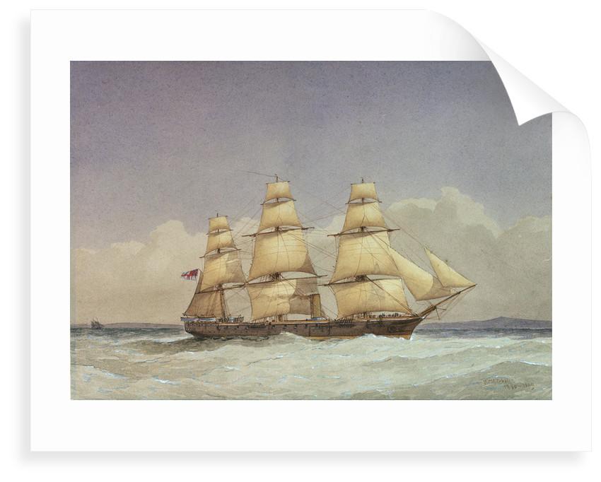 HMS 'Volage' by William Frederick Mitchell
