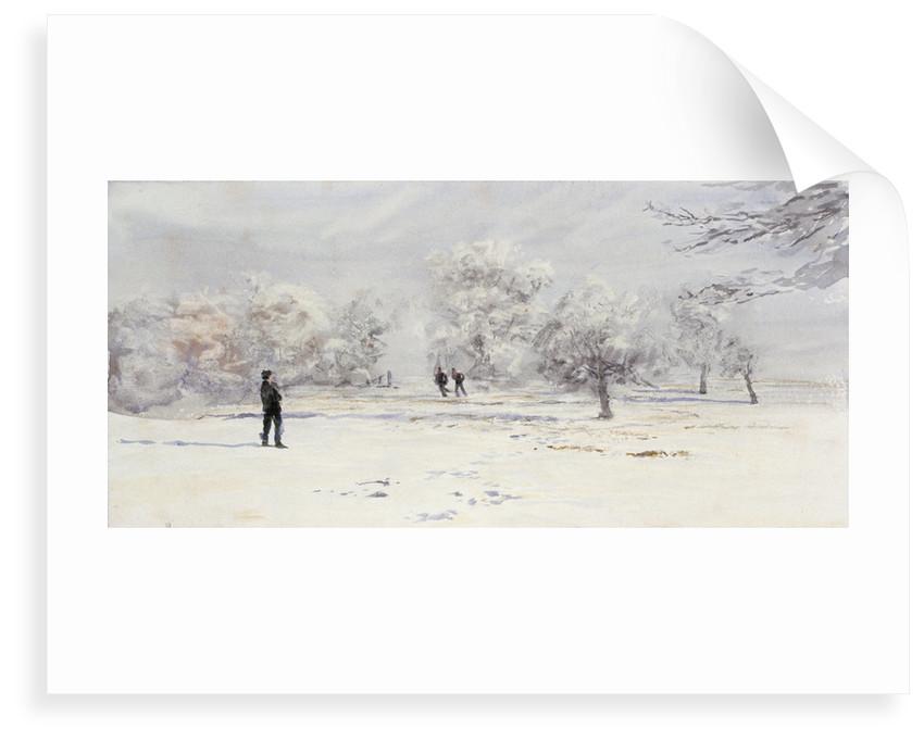 Snow covered by William Lionel Wyllie
