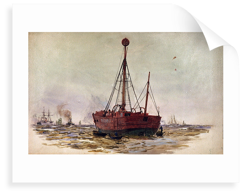 Nore Light ship by William Lionel Wyllie