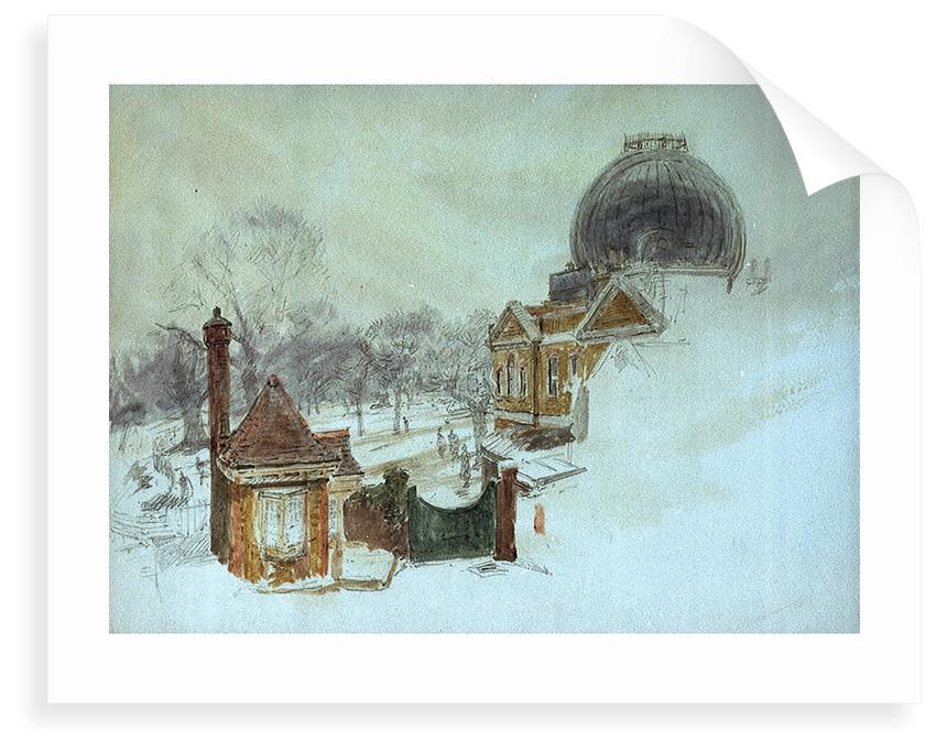 Greenwich Observatory by William Lionel Wyllie