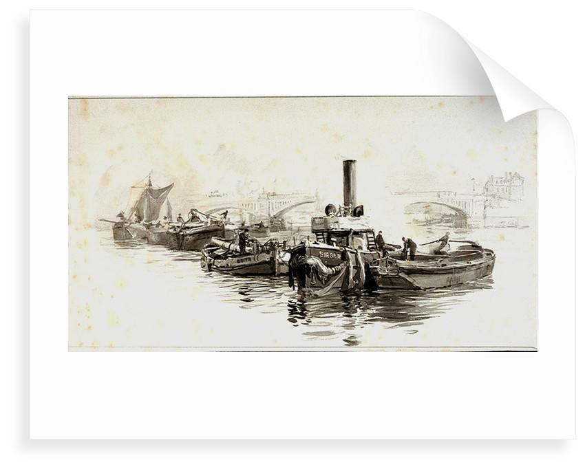 Sirdar tug by William Lionel Wyllie
