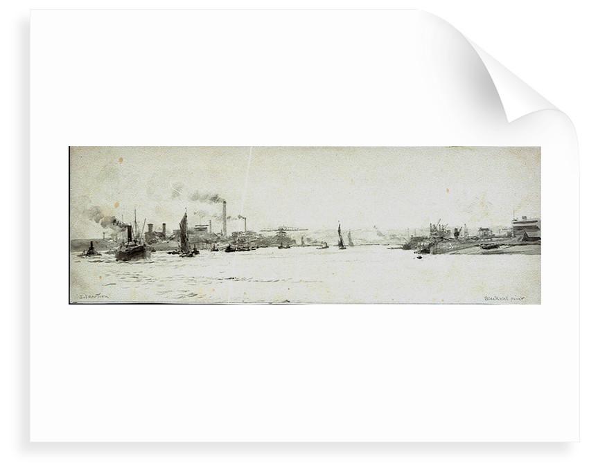 Silvertown by William Lionel Wyllie