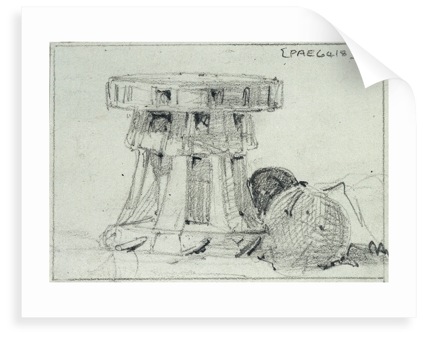 A capstan by Edward William Cooke